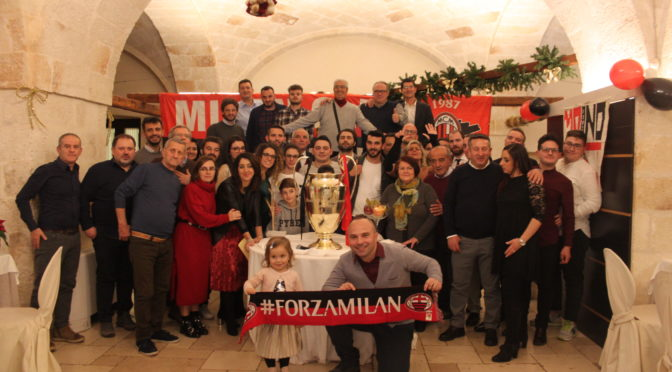 GRANDE FESTA PER I 30 ANNI DEL MILAN CLUB MONOPOLI
