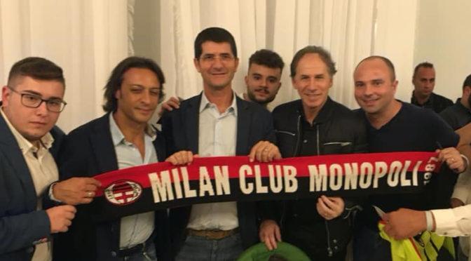 IL MILAN CLUB MONOPOLI INCONTRA LA STORIA