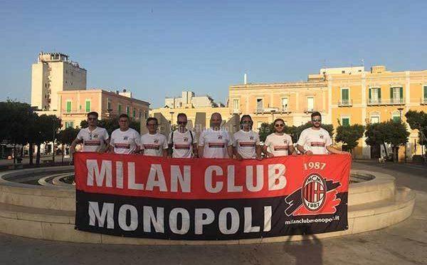 "IL MILAN CLUB MONOPOLI AL ""V° MEMORIAL CLAUDIO LIPPI"""